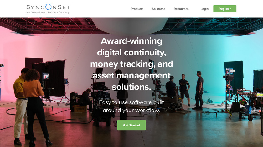 SyncOnSet Landing Page