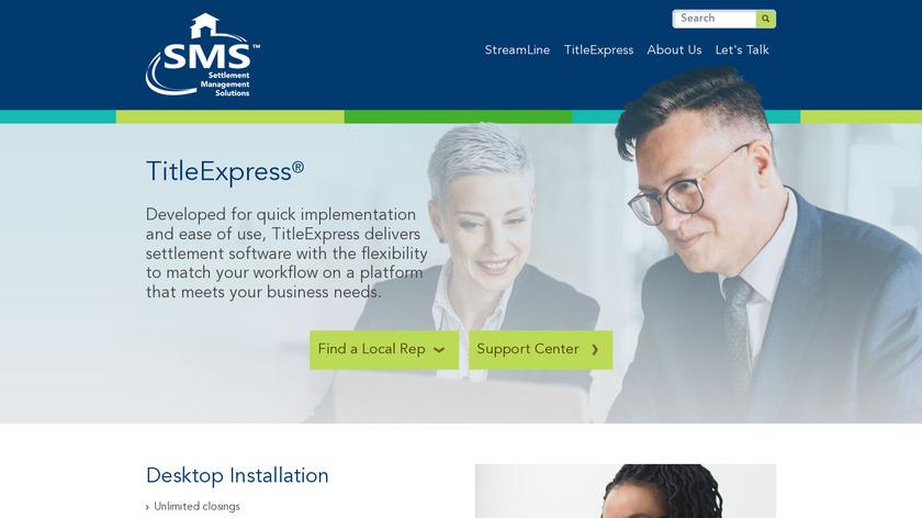 TitleExpress Landing Page