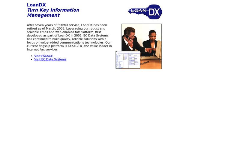 LoanDX Landing Page
