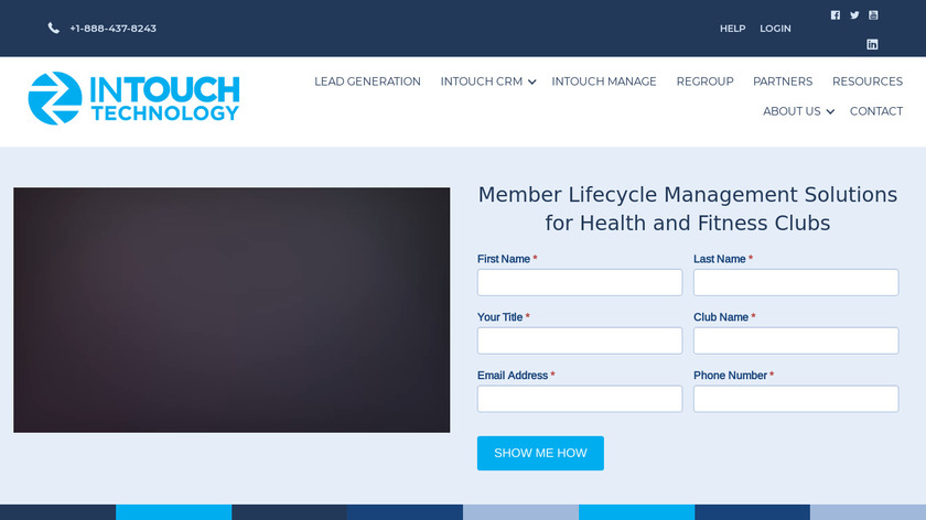 InTouch Technology Landing Page