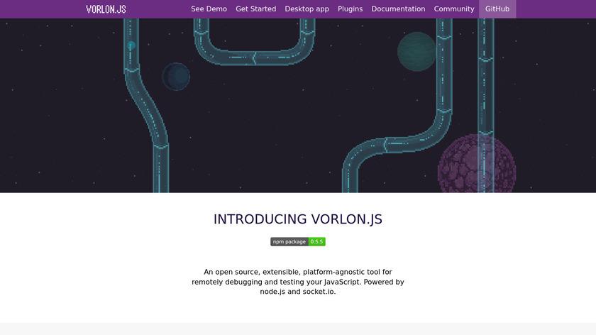 Vorlon.JS Landing Page