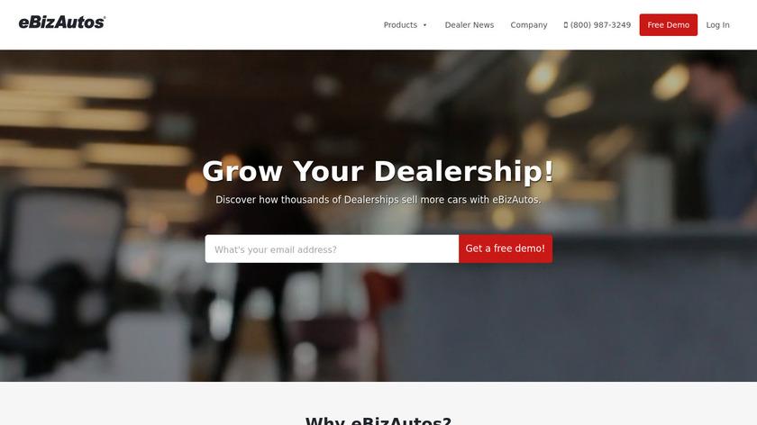 eBizAutos Landing Page