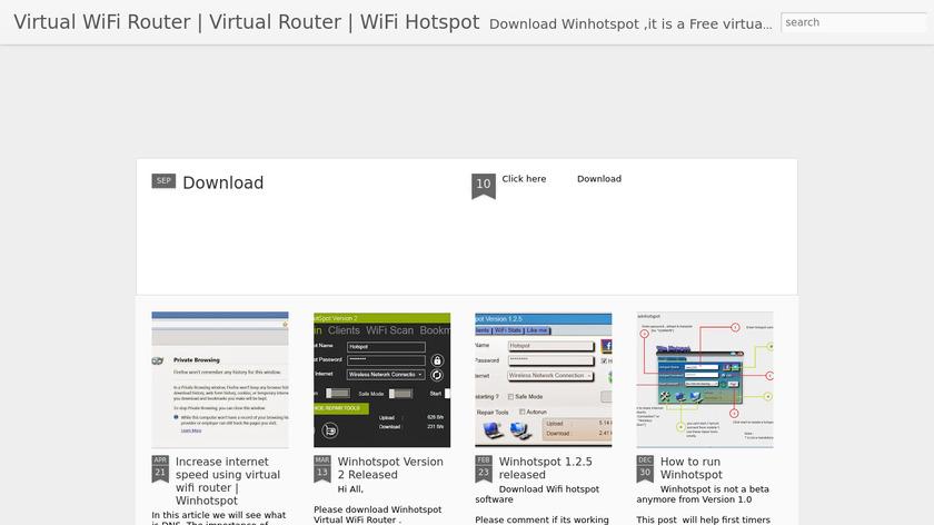 Winhotspot Landing Page