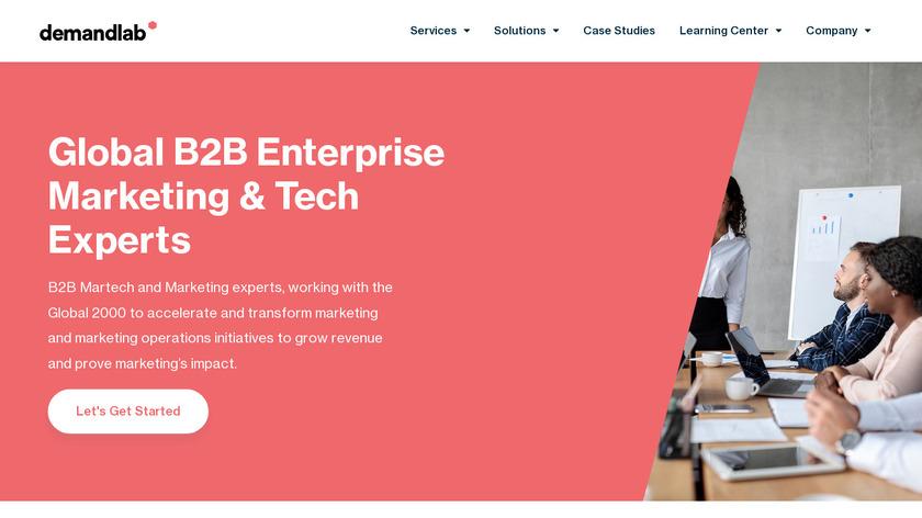 DemandLab Landing Page