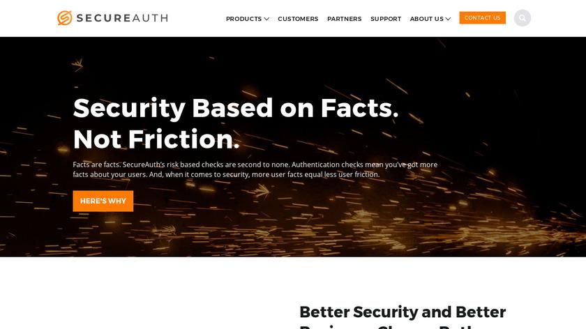 SecureAuth Landing Page