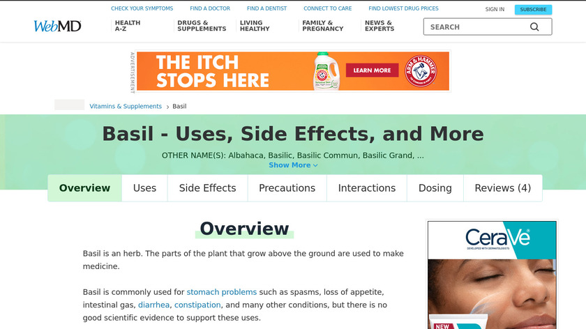 Basil Landing Page
