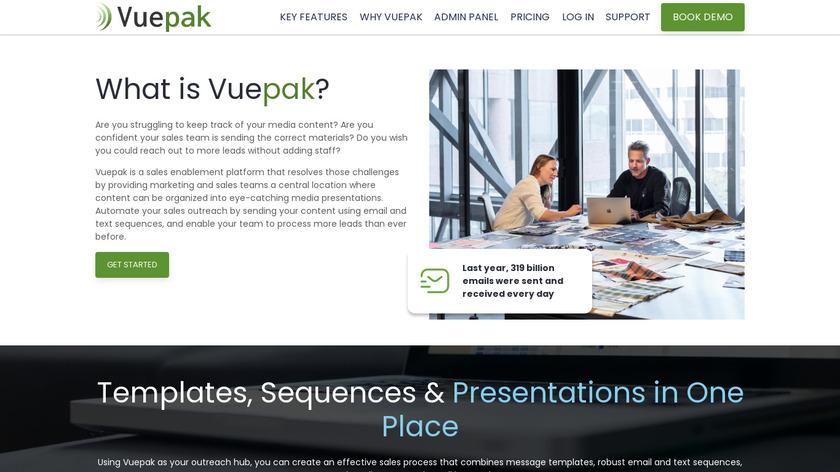 SendYourMedia Landing Page