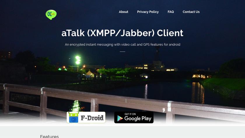 aTalk Landing Page