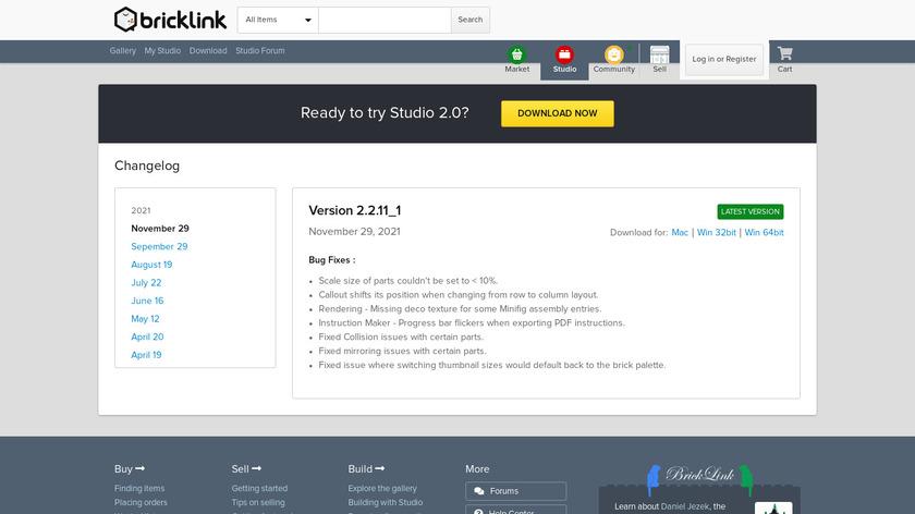 Stud.io Landing Page