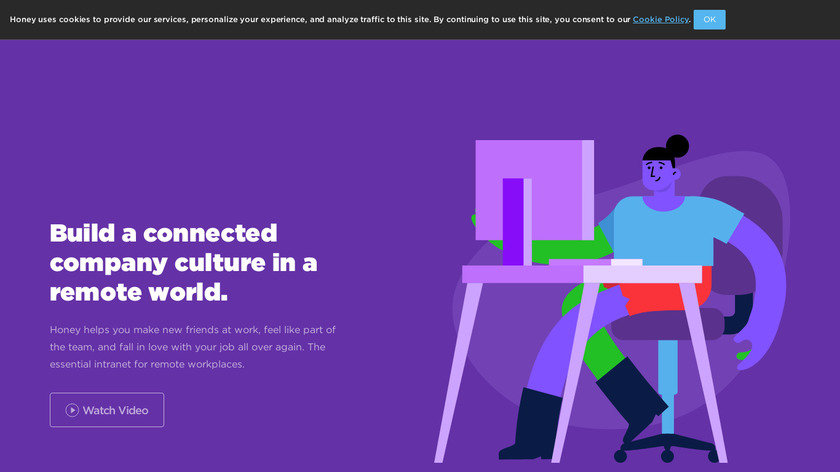 Honey.is Landing Page