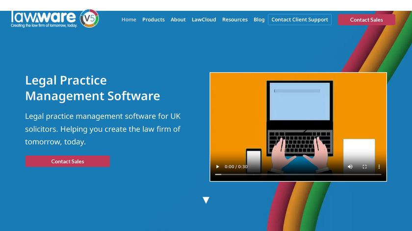 LawWare Landing Page