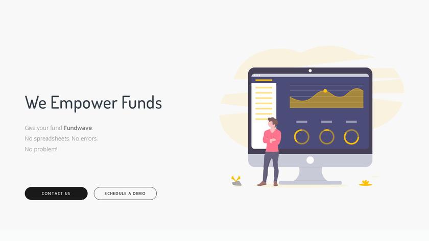 Fundwave Landing Page