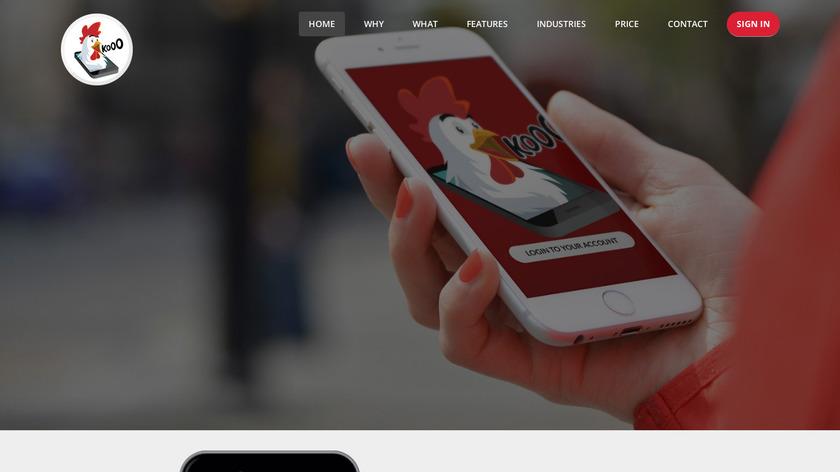 kookdokoo Landing Page