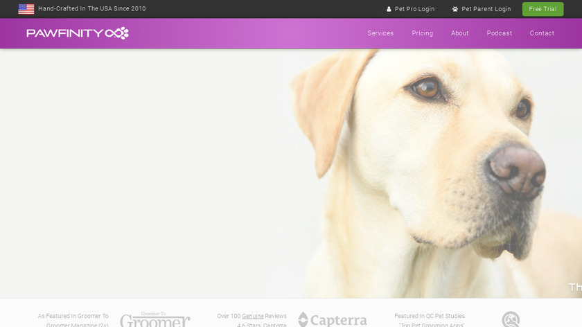 Pawfinity Landing Page
