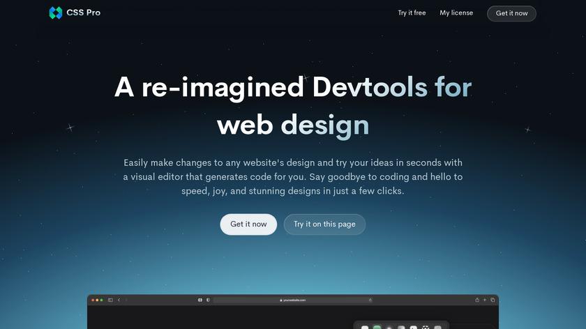 CSS Scan Pro Landing Page
