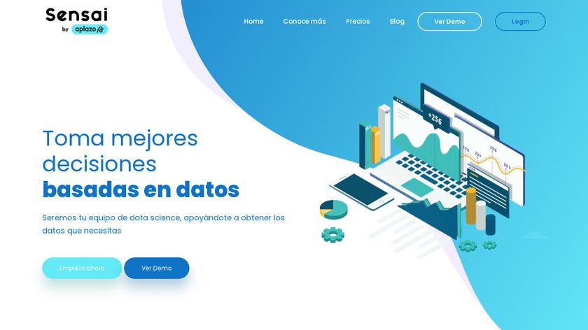 Sensai Metrics Landing Page