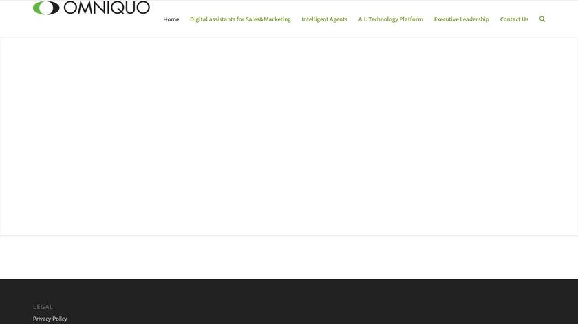 Omniquo Landing Page