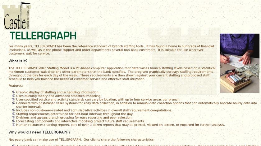 TellerGraph Landing Page