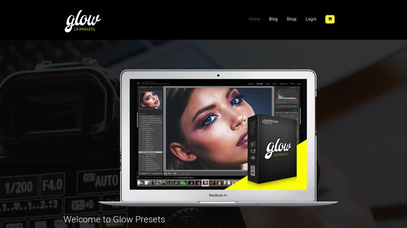 Glow Machine Landing Page