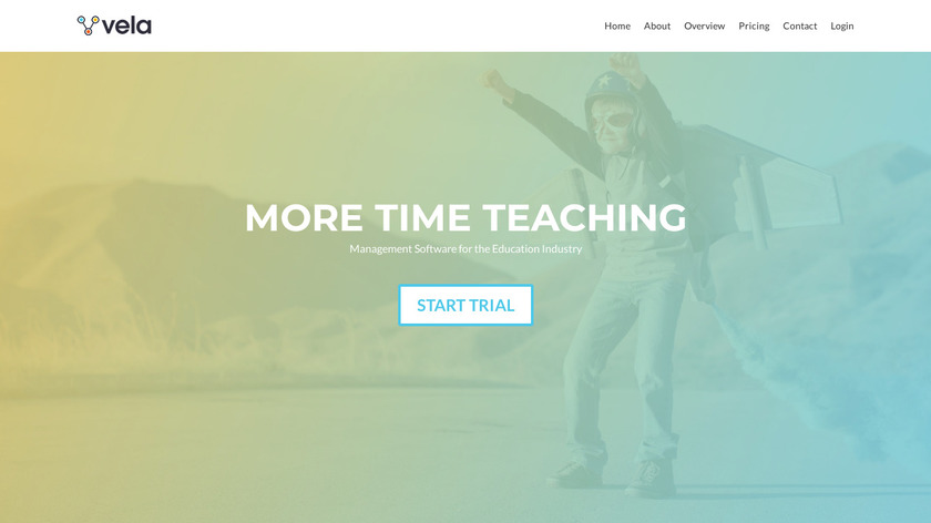 VelaCRM Landing Page