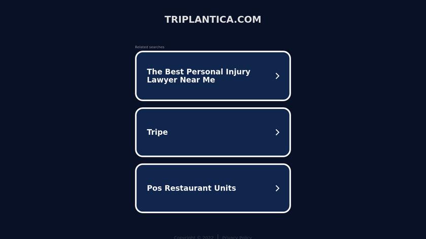 triplantica.com Landing Page