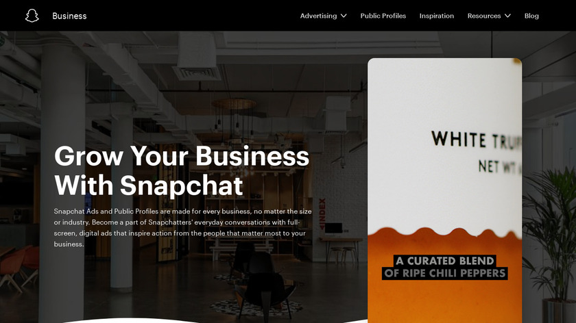 Snapchat Ads Landing Page