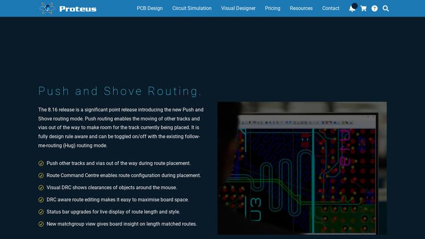 proteus VSM Landing Page