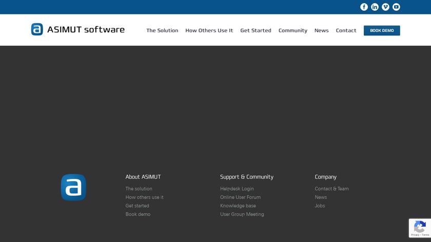 ASIMUT Landing Page