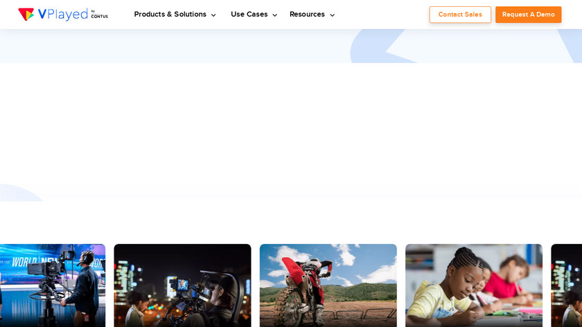 Contus Group Clone Landing Page