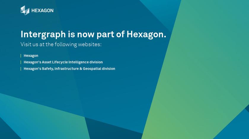 GeoMedia Professional Landing Page