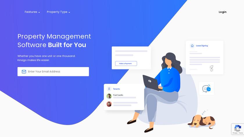 Innago Landing Page