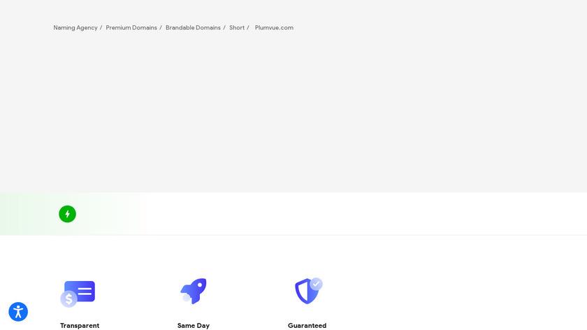 Plumvue Landing Page