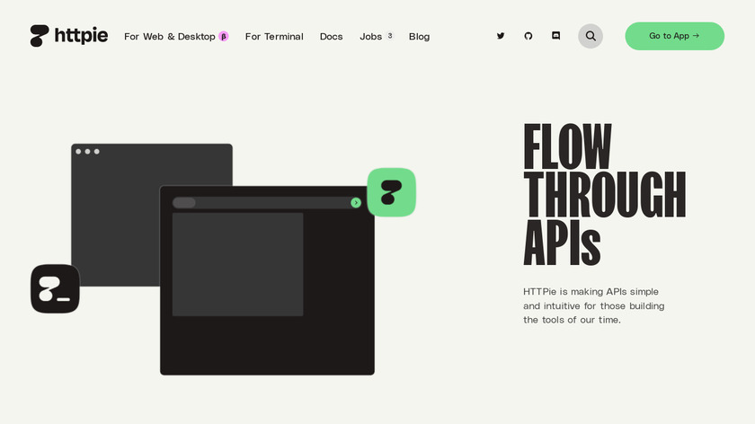 HTTPie Landing Page