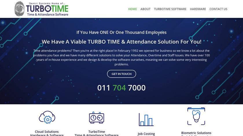 TurboTime Landing Page