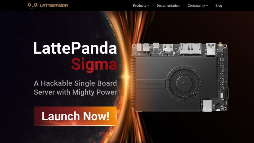 Lattepanda Landing Page