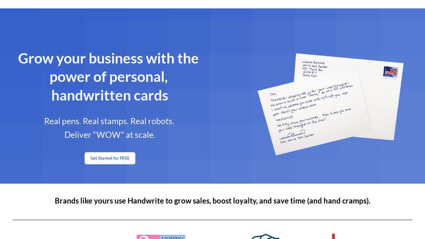 Handwrite Landing Page