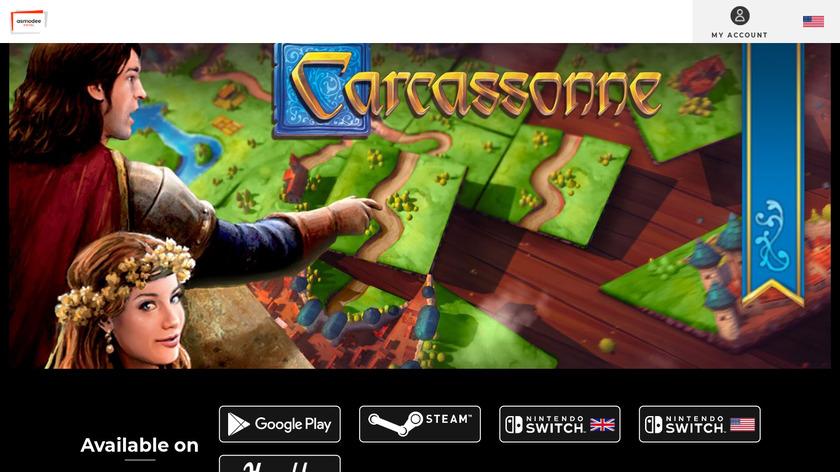 Carcassonne Landing Page