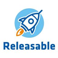 Releasable logo