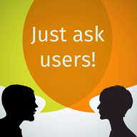 Just Ask Users logo