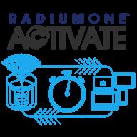 RadiumOne Activate logo