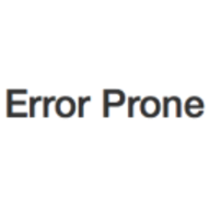 Error Prone logo