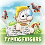 Typing Fingers logo