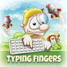 Typing Fingers logo