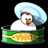 Chicken of the VNC logo