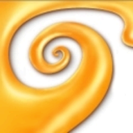 Curvy 3D logo