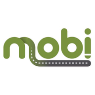 mobi. Route logo