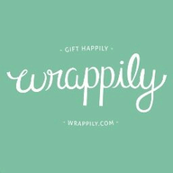 Wrappily Eco Gift Wrap logo