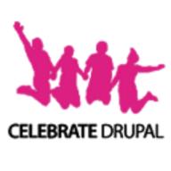 Celebrate Drupal logo