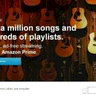 Amazon Prime Music logo