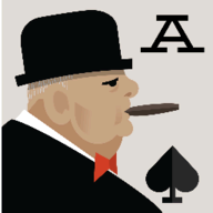 Churchill Solitaire logo